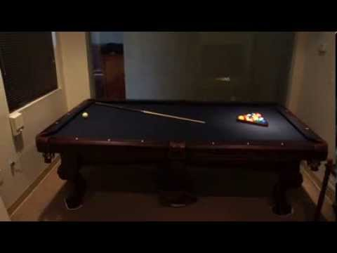American Heritage Billiards Collection Pool Table Blue YouTube - American heritage billiards pool table