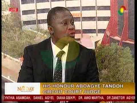 NewDay - Discussing the structure and jurisdiction of various courts in Ghana - 30/6/2015