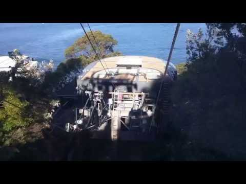 Cable Car at Taronga Zoo, Sydney, Australia