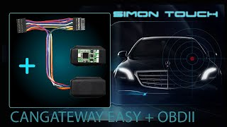 How To Install Mercedes S Class 222 FBS4 Can Gateway Easy + OBD