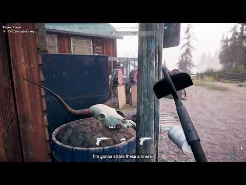 Far Cry 5 Find the Cabin Key Pooper Scooper
