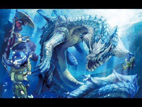 海洋的支配者-海龍【魔物獵人生態,怪物獵人生態】