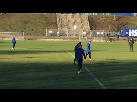 Rautenperle.tv: Das HSV-Mittwochstraining vor dem Spiel gg Bayer Leverkusen