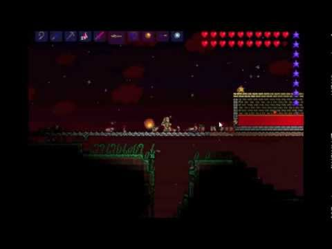 Terraria: Blood Moon and Water Candles?