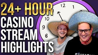 We played Online Casino for over 24 HOURS! (Highlights)