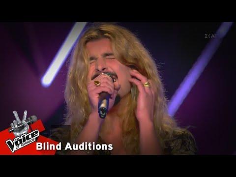 Κωνσταντίνος Κρομμύδας - Creep   9o Blind Audition   The Voice of Greece