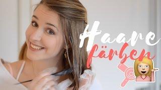 ICH FÄRBE MEINE HAARE BALAYAGE | Charlotte K.