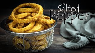 The BEST Air Fryer Onion Rings