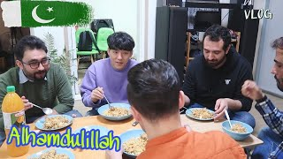Pakistani Home-Iftar party in Korea VLOG