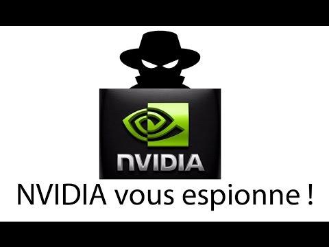 Télémétrie - NVIDIA vous espionne !