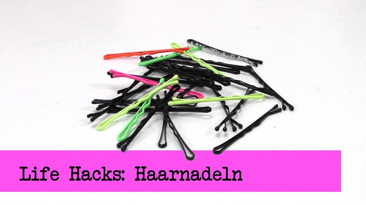 Life Hacks Haarnadeln Top 5 Tipps Und Ideen Fur Haarnadeln Diy