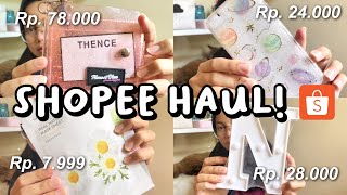 shopee haul 2019! 🇮🇩 || skincare, stationery, phonecases, and more! ✨