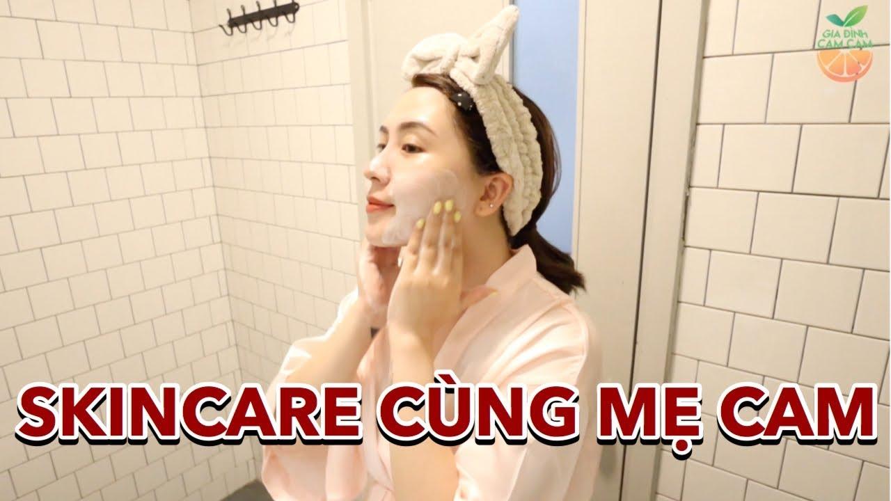 Mẹ Cam Skincare thế nào khi đi du lịch | Giveaway Vlog 113