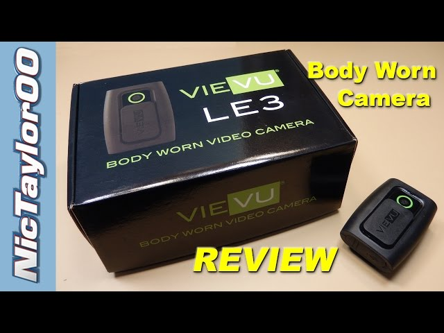 VIEVU LE3 Body Worn Law Enforcement Camera - REVIEW