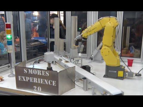 Robotic S'mores Machine in 30