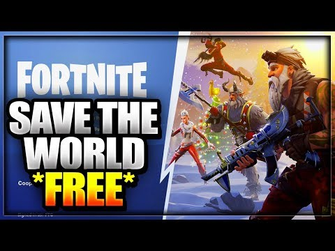 *UPDATED* HOW TO GET SAVE THE WORLD FOR FREE ON FORTNITE IN 2019 PvE  V-Bucks Glitch PS4 XBOX ONE PC