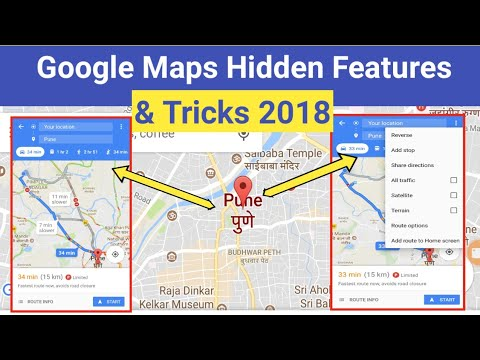 Google Maps Hidden Features & Tricks 2018 That You Must Know (Hindi)