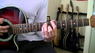 Paramore   The Only Exception   Guitar Cover HD