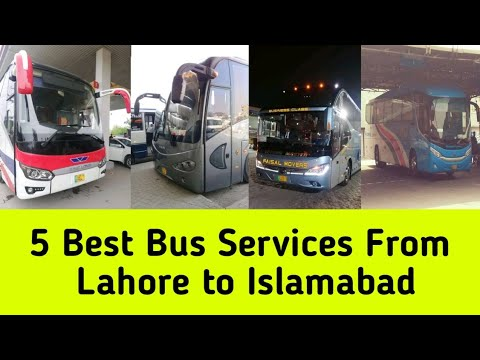 5 Best Bus Services from Lahore to Islamabad
