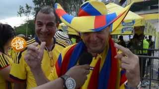 Partido Colombia vs Paraguay 2012
