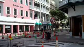 Downtown Hamilton Bermuda