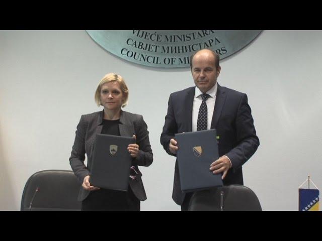 Sporazum o zapošljavanju između BIH i Slovenije