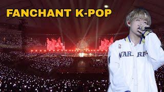 K-POP FAN SINGING INSTEAD OF IDOLS   FANCHANT K-POP