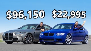 2021 BMW M3 vs The Cheapest E90 BMW M3 You Can Buy