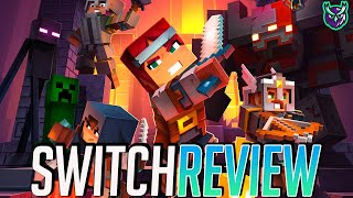 Minecraft Dungeons Switch Review - Diablo³! (Video Game Video Review)