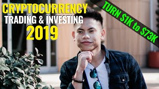 My Cryptocurrency Trading and Investing Strategy for 2019