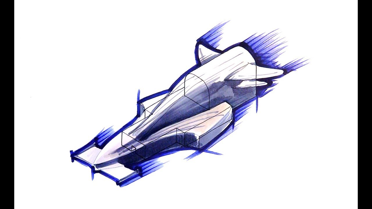Designing An F1 In Schools Car Body Youtube