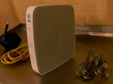 2wire at t dsl modem router for wireless internet youtube. Black Bedroom Furniture Sets. Home Design Ideas