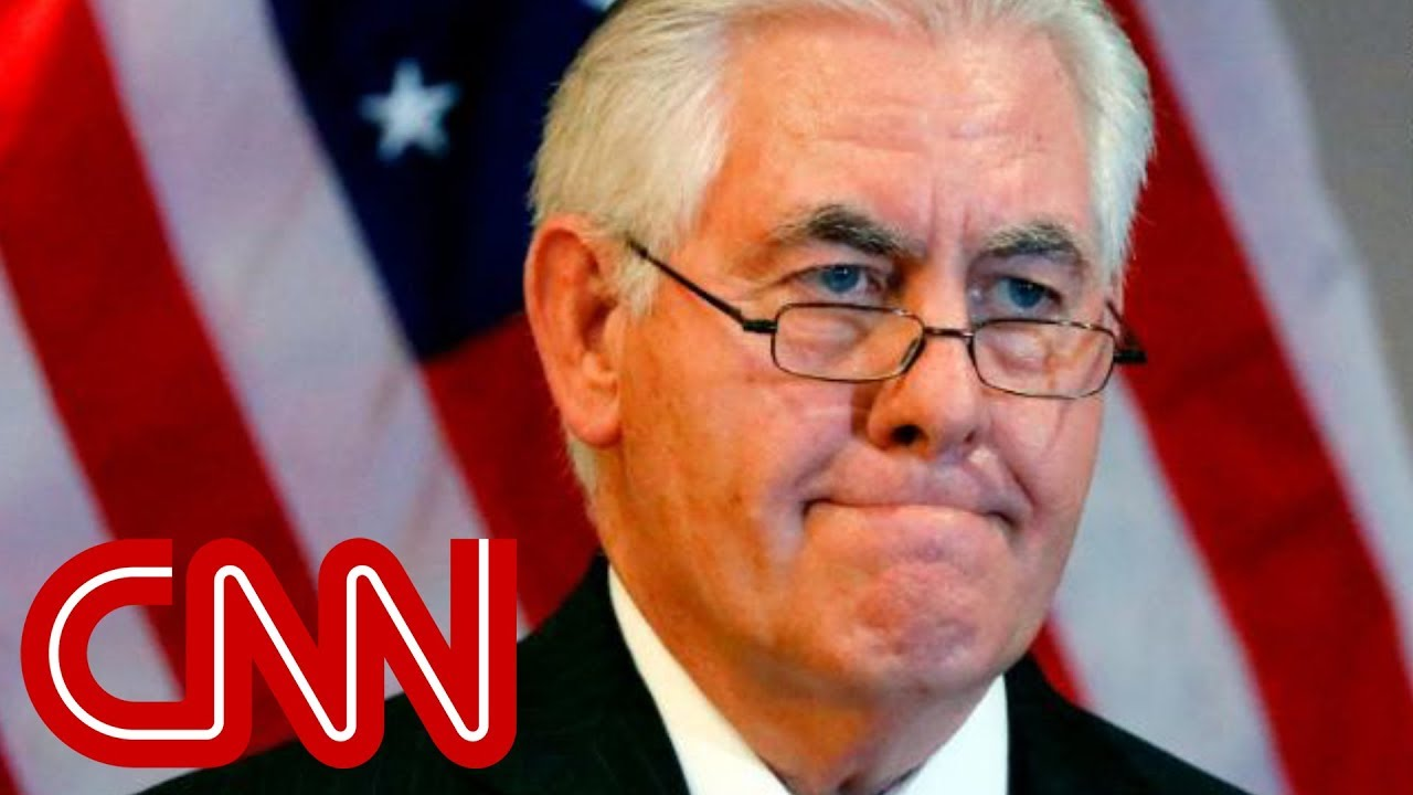Tillerson speaks out after being fired #1