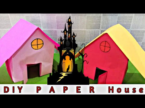 How To Make a Paper House | DIY-Paper Crafts