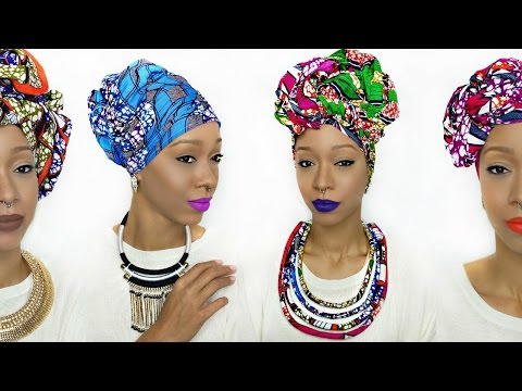 Head Wrap Tutorial | 5 Different Ankara Styles