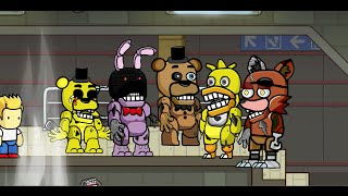 Scribblenauts Unlimited 88 Withered Animatronics from Five Nights at Freddy's 2