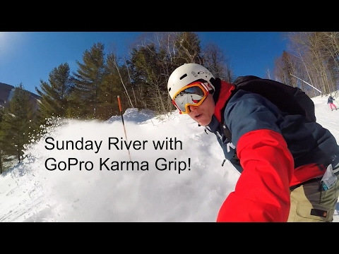 GoPro Karma Grip Snowboarding at Sunday River