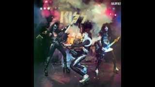 KISS - Parasite - KISS ALIVE 1975