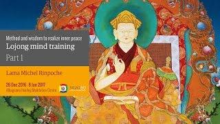 Lojong addestramento mentale: metodo e saggezza per realizzare la pace interiore (inglese – italiano) – 26 dicembre 2016 – 8 gennaio 2017