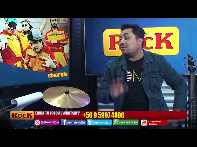 Participación de Ismael Pereira en Tiempo De Rock de GTV Julio 2019