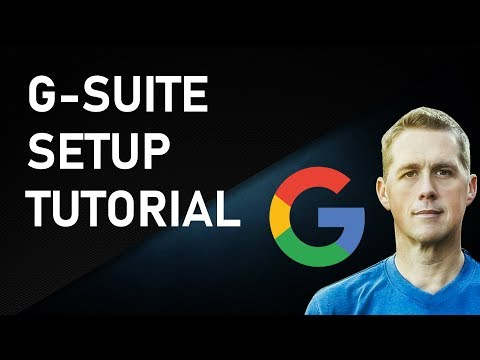 Setting Up G Suite, Google Apps for Business