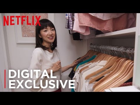 How To Organize Your Closets | Tidying Up with Marie Kondo | Netflix