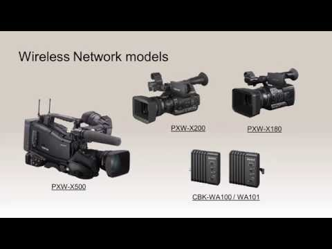 Wireless Network Solution for Professional Camcorders