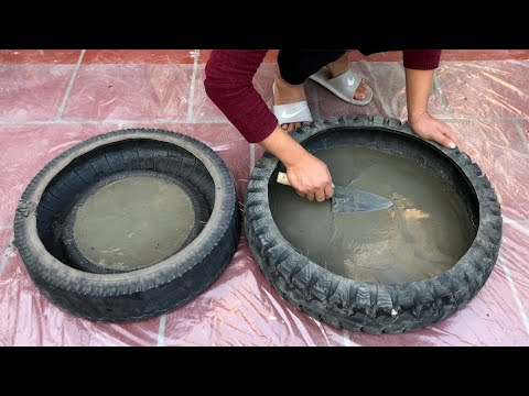 DIY - ❤️ TOO BEAUTIFUL ❤️ - How to make the cement aquariums beautiful and easy
