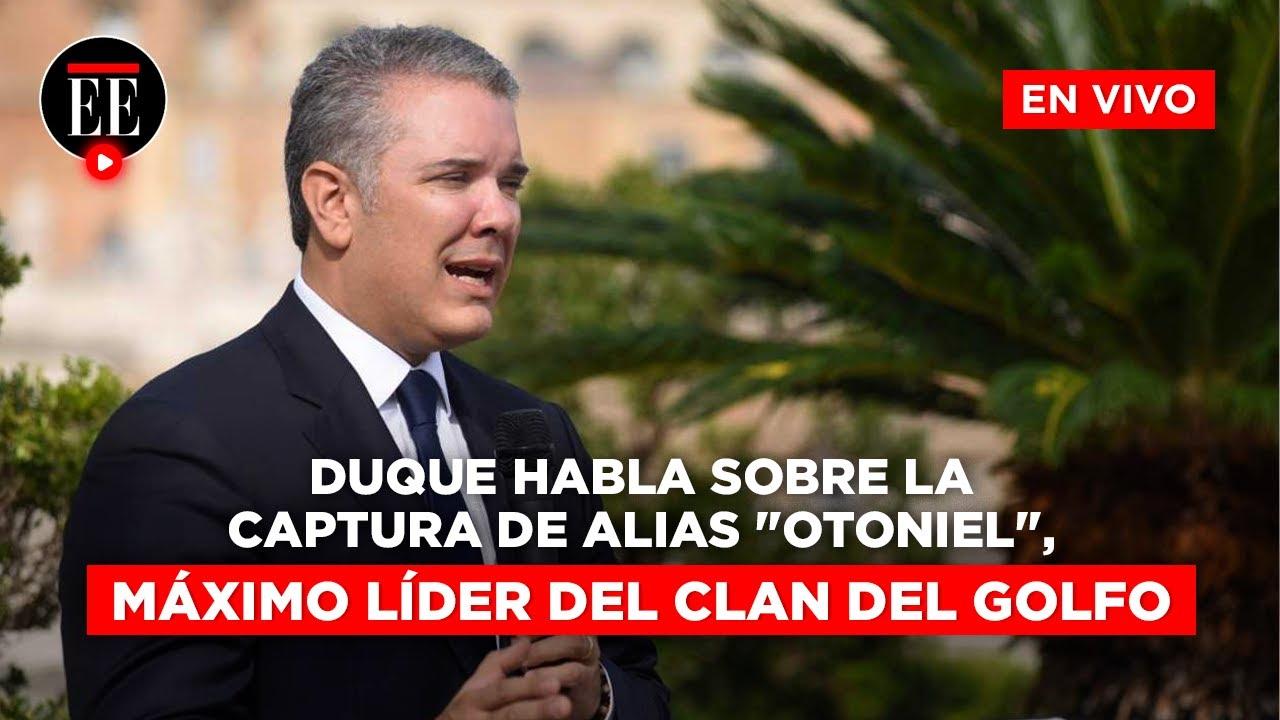 """Download Presidente Duque confirma captura de alias """"Otoniel"""", líder del Clan del Golfo   El Espectador"""
