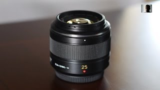 Panasonic Leica DG Summilux 25mm f 1.4 ASPH Micro Four Thirds Lens Review