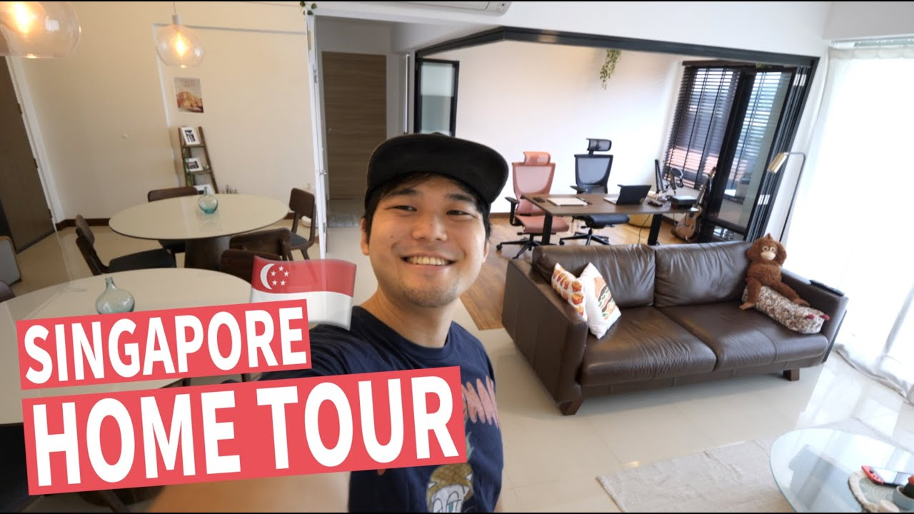 My New Singapore Apartment Home Tour | What $500k Gets You in SG