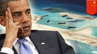 South China Sea disputes: China's land reclamation in the Spratlys grows, says Pentagon - TomoNews