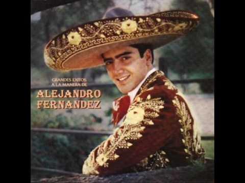 Mexico Lindo Y Querido Alejandro Fernandez Wmv Youtube