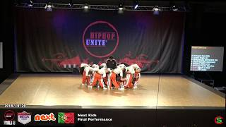 *NEXT Kids* Vice World Champions @ HIP HOP UNITE WORLD 2018 - Megacrew Final